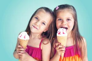 Kids eating ice cream wheatley iScreams Ice Cream Shop